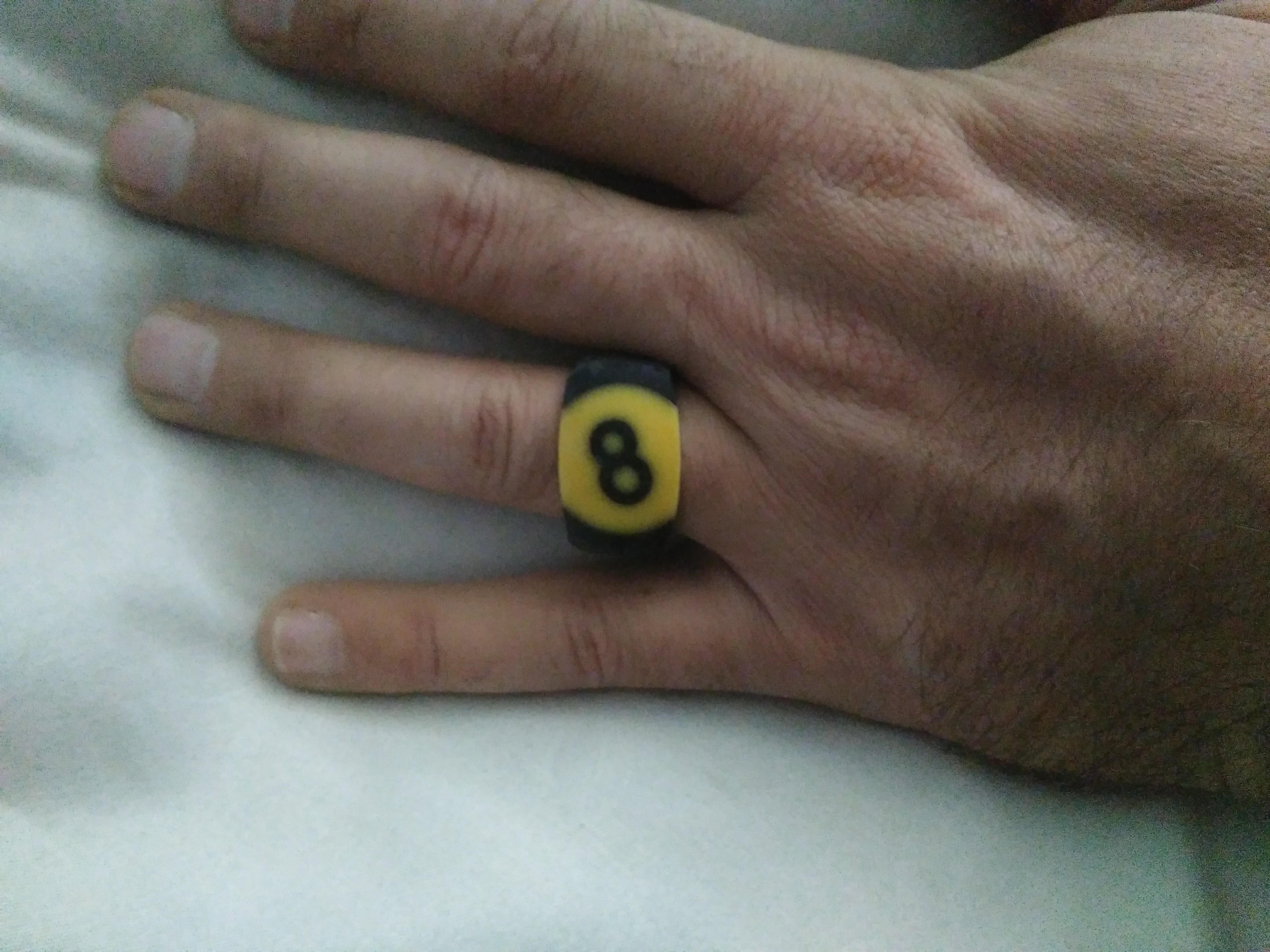 Picture of Repurposed Billiard Balls to Make Pool Ball Rings
