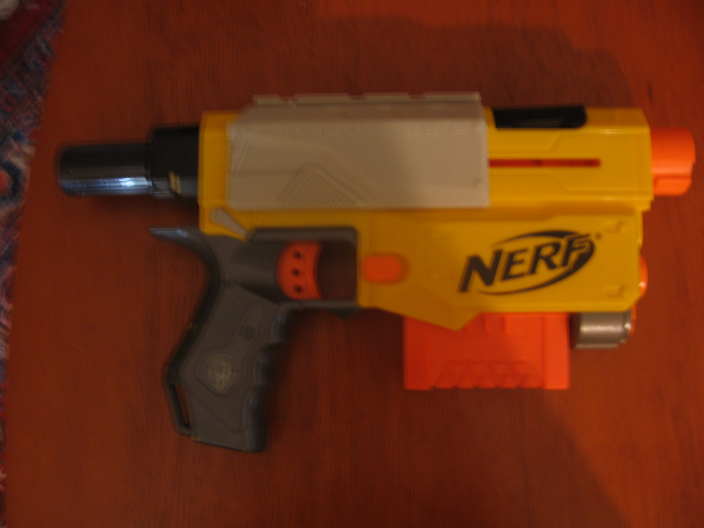 Picture of How to Make Your NERF Guns Smoke After Firing