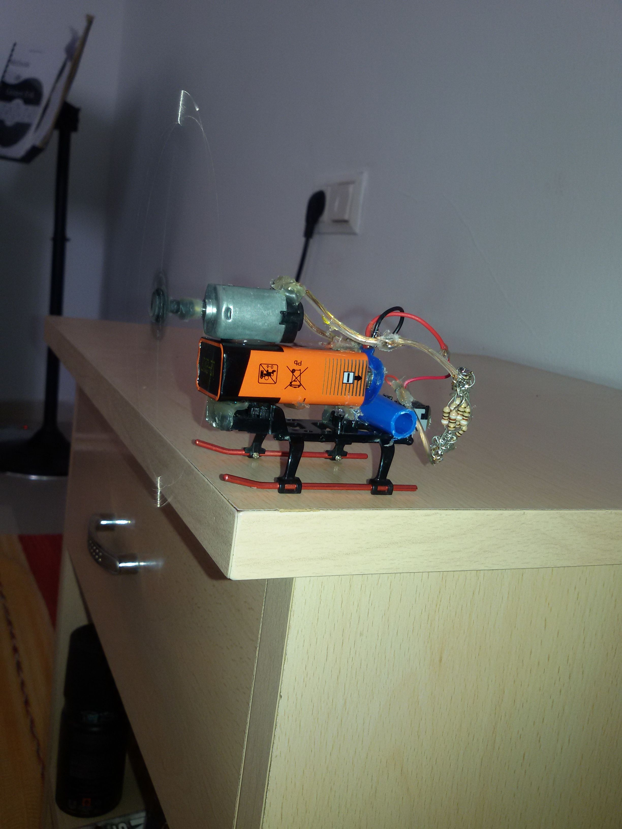Picture of Rotating Motor