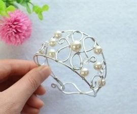 Wire Woven Bracelet DIY