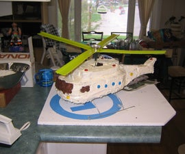 helicopter birthday cake