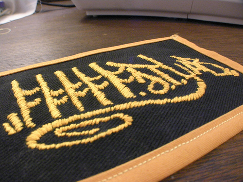 Picture of Create Embroidered Patches From Digital Images