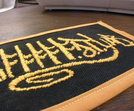 Create embroidered patches from digital images