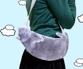 Handbag Made From Cat Picture