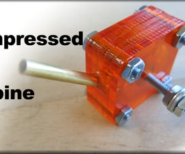 How to Make a Mini Compressed Air Turbine