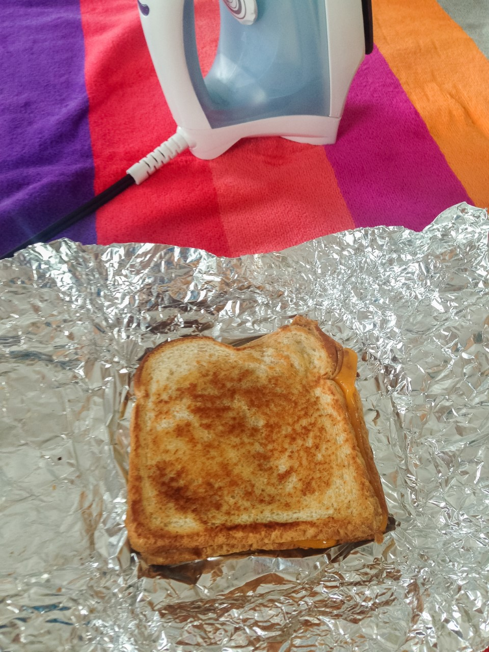 Picture of Ironed Cheese Sandwich