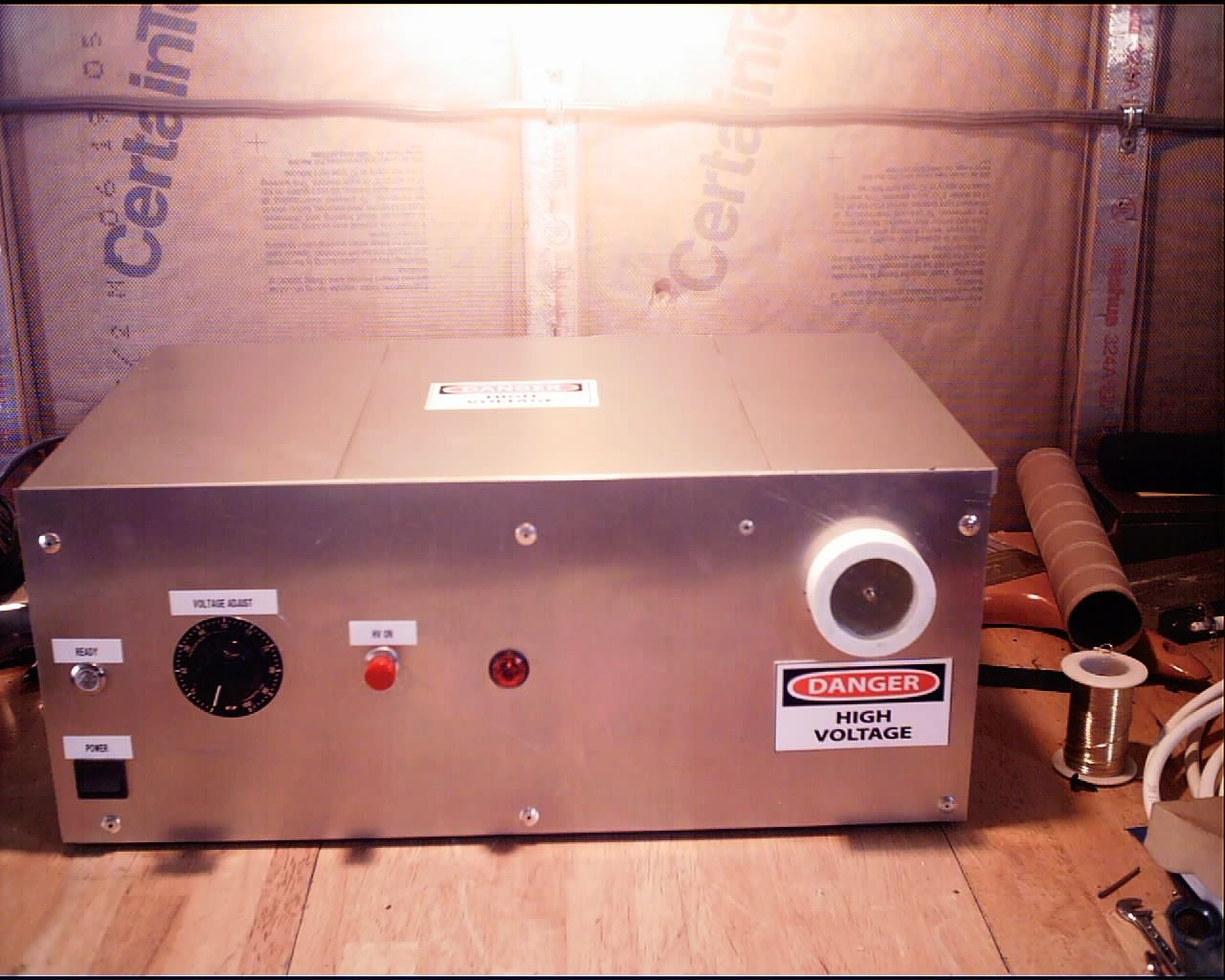 Build A Variable High Voltage Power Supply 7 Steps With Pictures 3000 Watts Dimmer For Inductor Load Electronic Projects Circuits