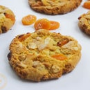 Apricot, Coconut & White Chocolate Chip Cookies