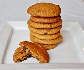 Sweet Potato Cashew Cookies (gluten/dairy free)