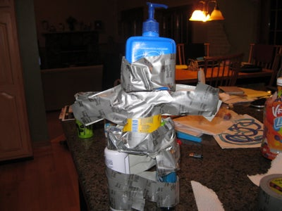 ''Home-made Test Dummy''