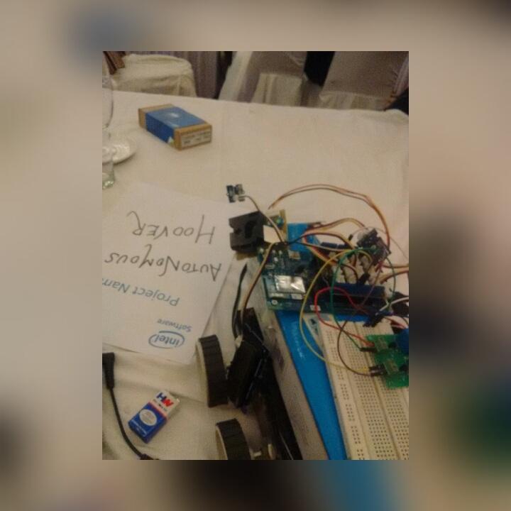 Picture of AUTONOMOUS HOOVER (Intel IOT)