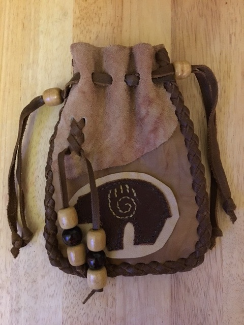 Picture of Leather Medicine Bag or Pouch