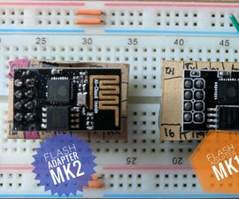 Build a ESP8266 Flash Adapter!