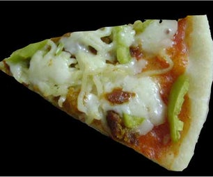 No-Yeast Pizza Dough With Instant Snacks Topping