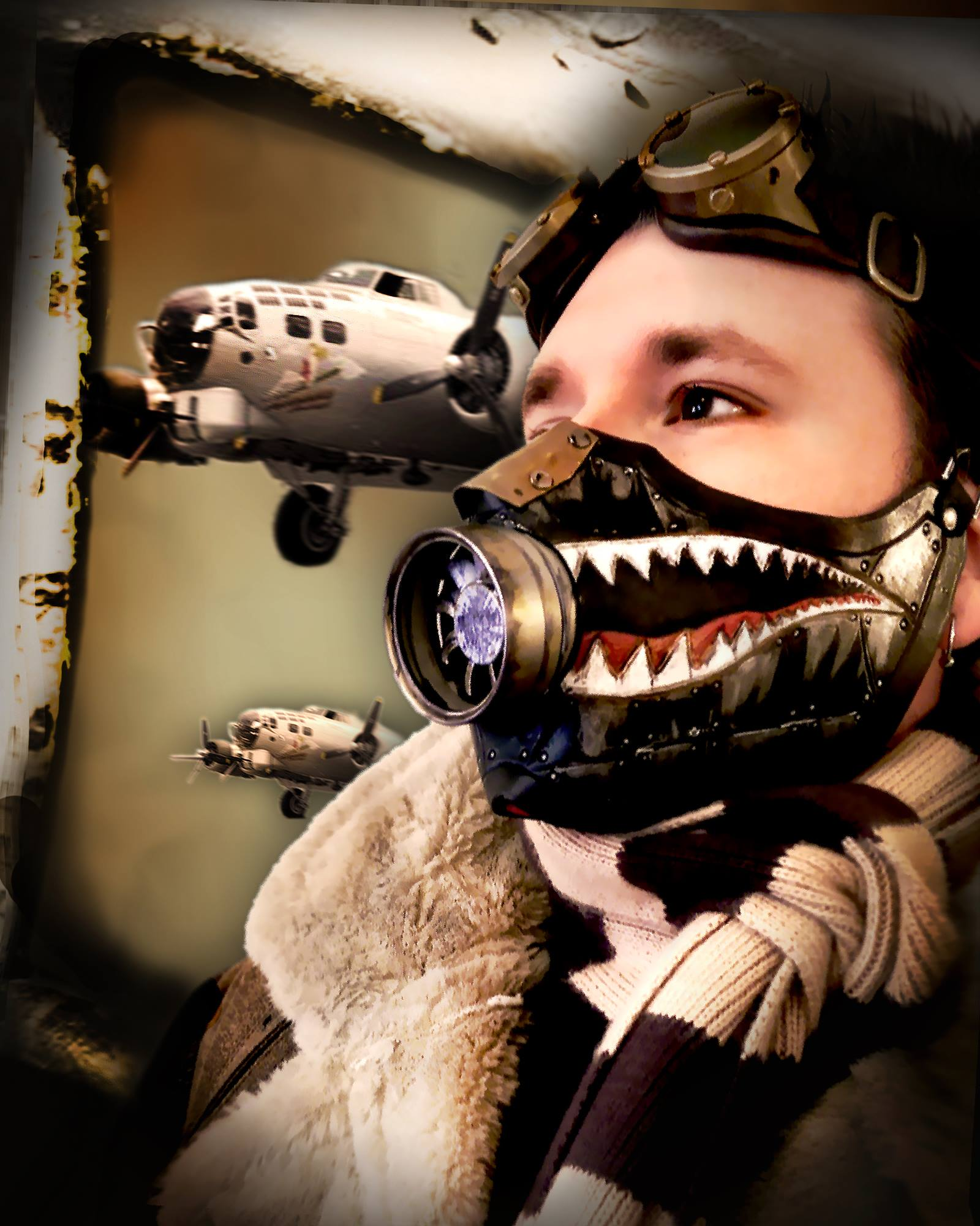 Picture of Dieselpunk Bomber Mask!