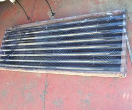 Cheap solar hot tub/spa/pool water heater