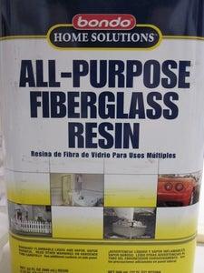 Resin & Fiberglass: Strengthening