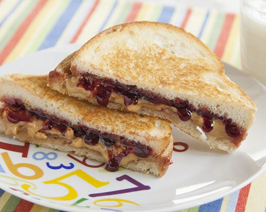 Picture of Grilled Peanut Butter & Jam