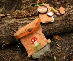Mushroom Determination Kit, Pocket Sized and Made From Scrap