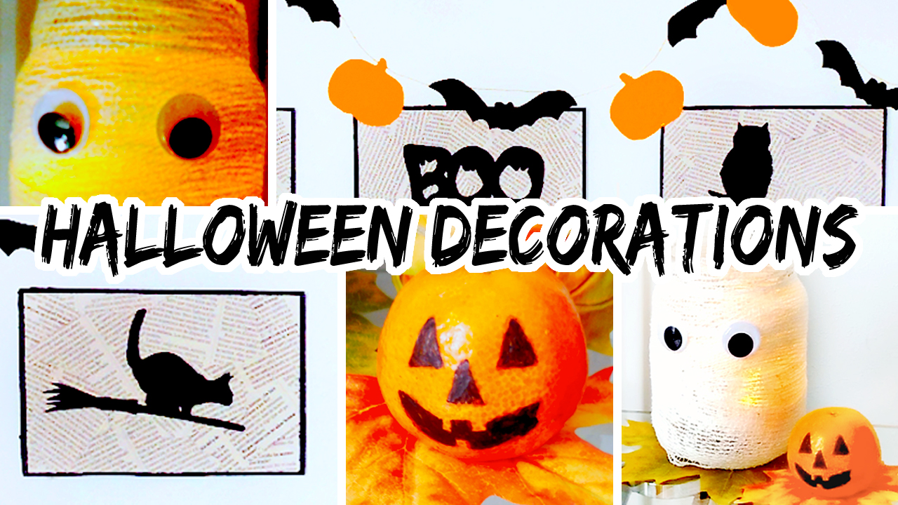 SUPER Easy & Affordable DIY Halloween Decorations for Your