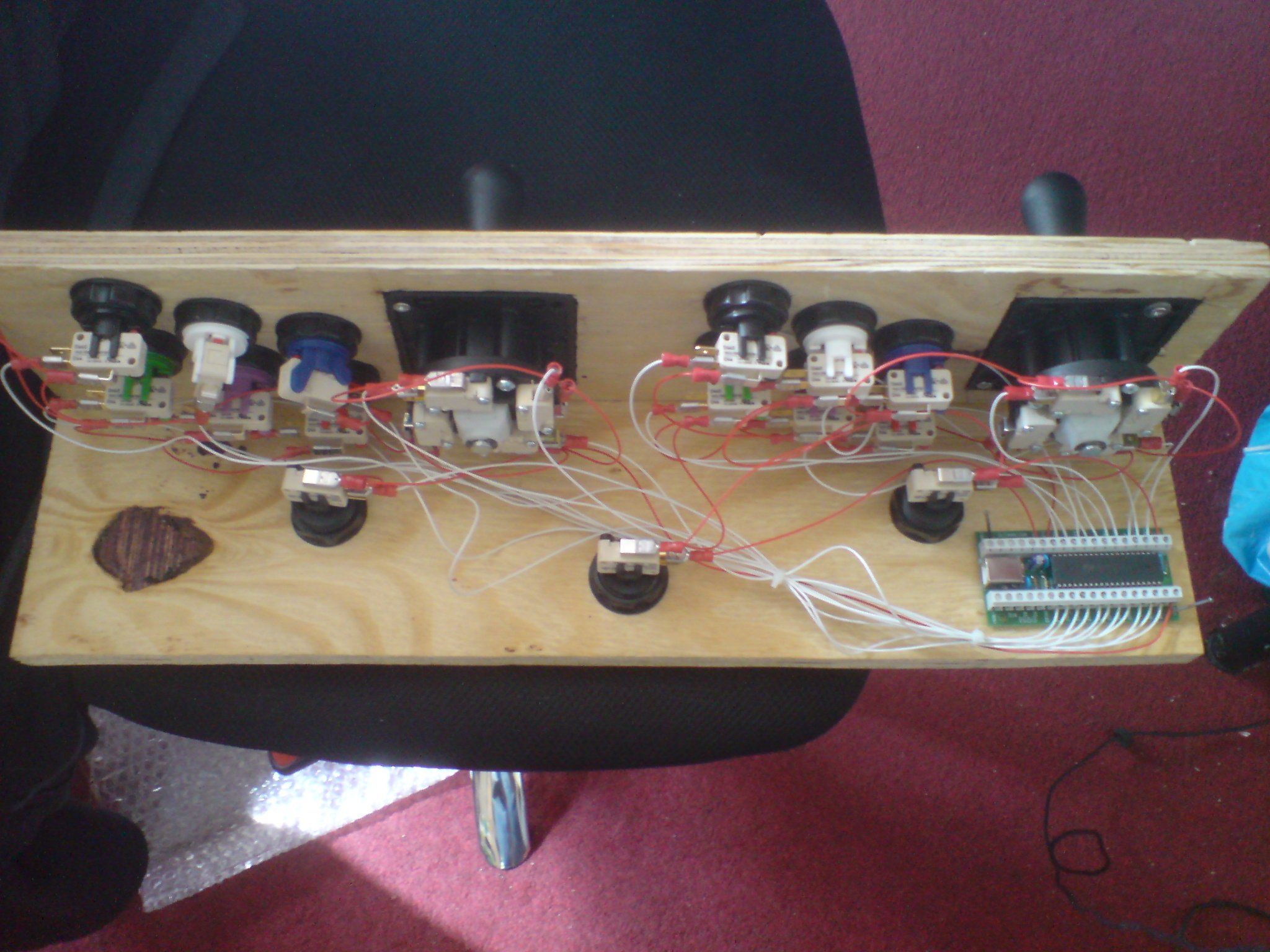 Picture of Controls - Wiring the Buttons