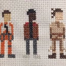 Star Wars Cross Stitch: Force Awakens Trio