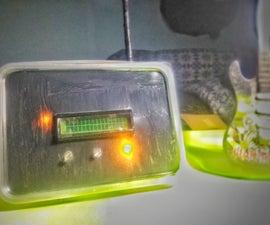 SENSOR SUHU DENGAN LCD DAN LED (Making Temperature Sensor With LCD and LED)