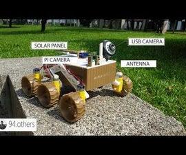 IOT  Moon Rover