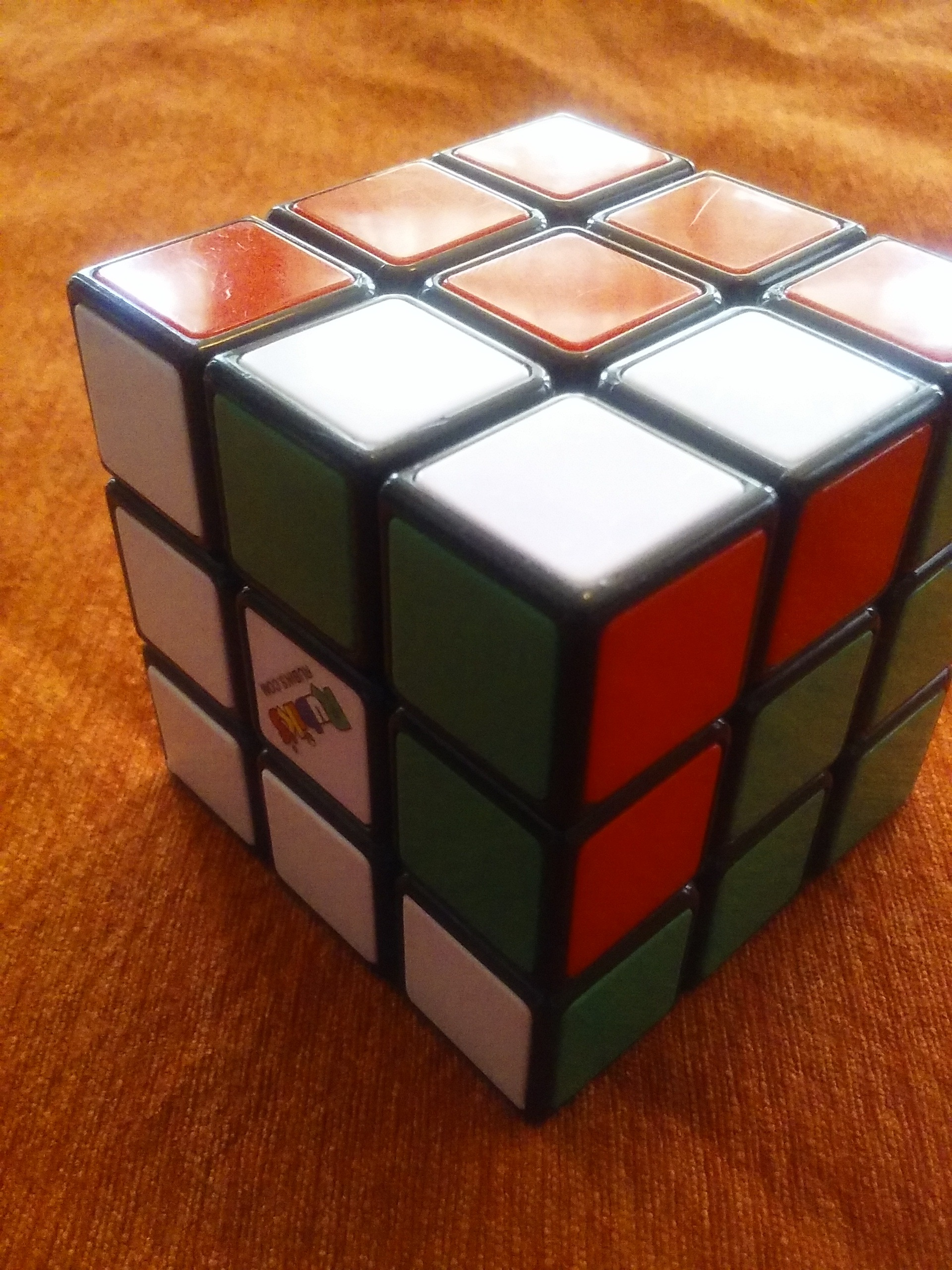 Picture of Rubik's Cube Tricks: Twisted Corner One