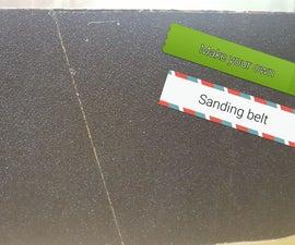 Diy Sanding Belt