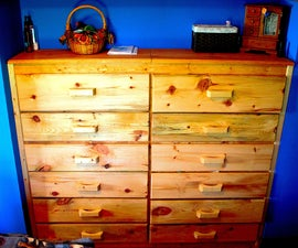 How to Make a Joined Twin Dresser (With Two Secret Compartments)