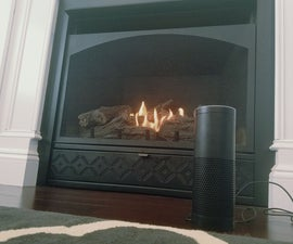 Alexa Activated Fireplace