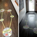 Mobile Chopped Life - Floor Graphic Application Instructions