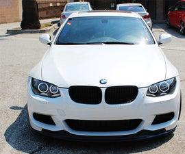 Install BMW LED Angel Eyes Headlight