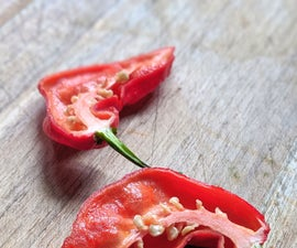 Pesky Hot Sauce With Pesky Ghost Peppers