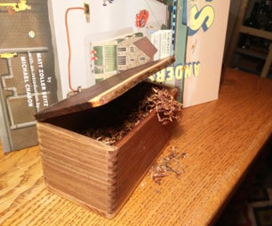 Tobacco (or Anything Else) Wood Box