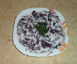 Purple Salad n 30 seconds only!