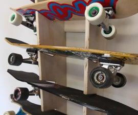 Skateboard Display Rack