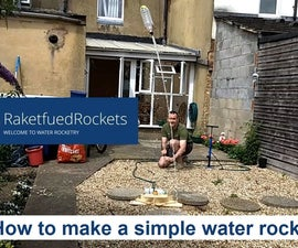 How to Make a Simplified Water Rocket