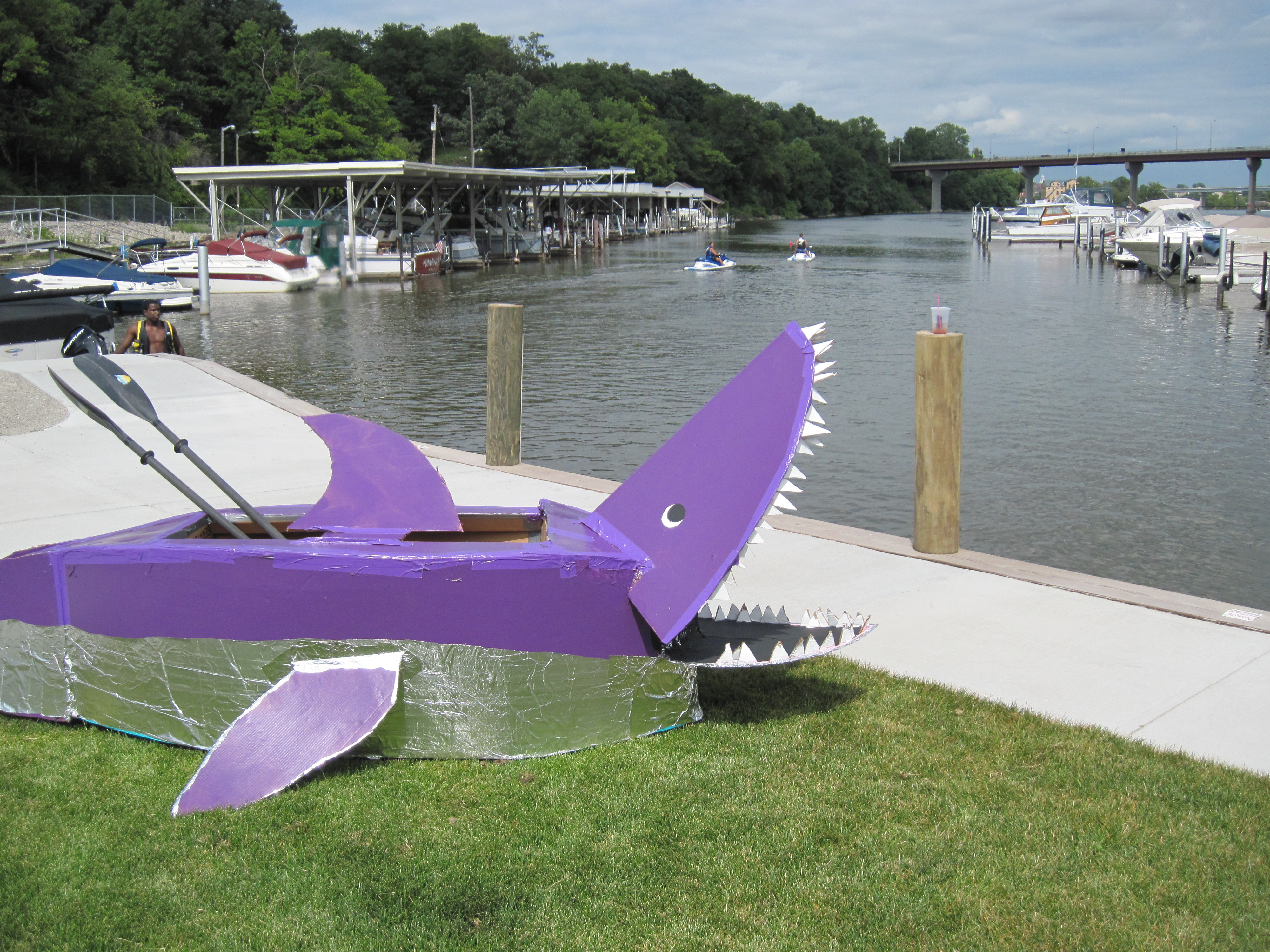Make a Cardboard Boat: 7 Steps (with Pictures)