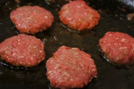 Shape the Hamburger and Cook