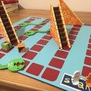 Real Spongebob Eels and Escalators Board Game!