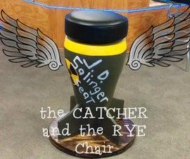 Catcher in the Rye Cardboard Barstool