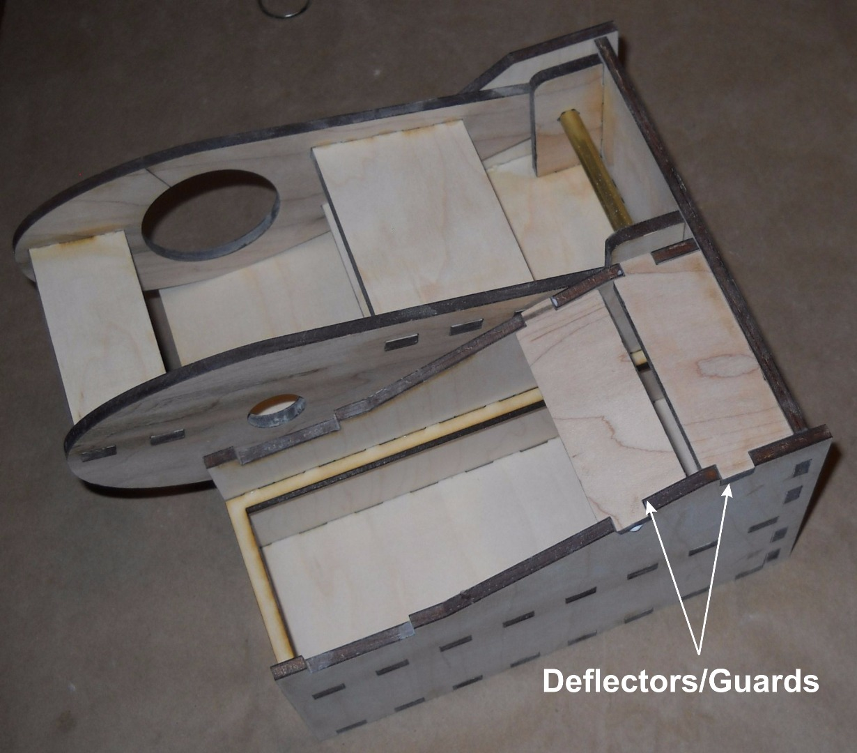 Picture of Add Deflectors/ Guards