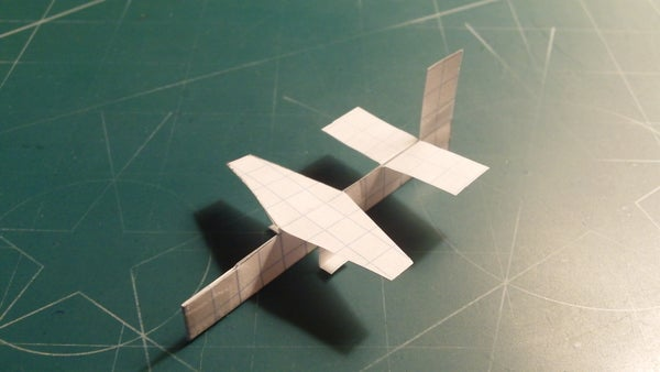 How to Make the Cardinal Paper Airplane