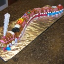 Valentine Love Train Cake