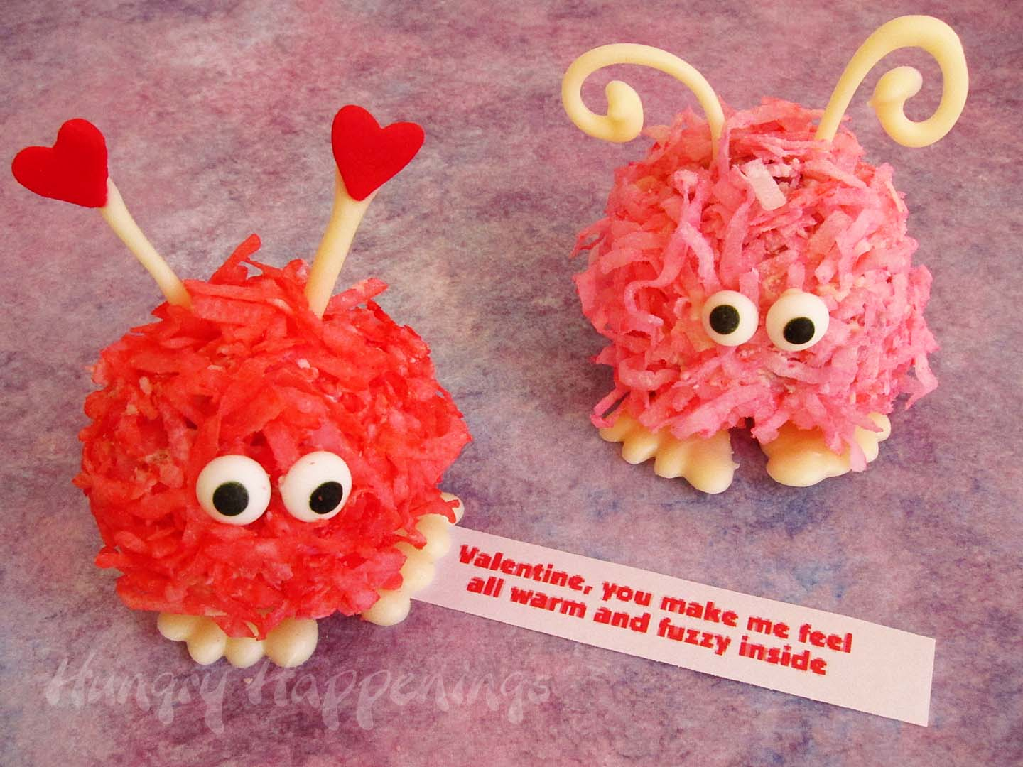 Picture of Sweet Little Valentine's Day Cake Balls