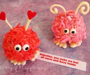 Sweet Little Valentine's Day Cake Balls