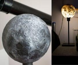 3D Moon Lamp (Concrete&Resin)