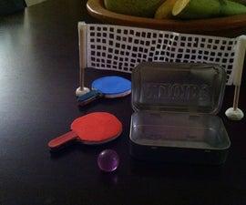Mini Ping Pong Altoid Game